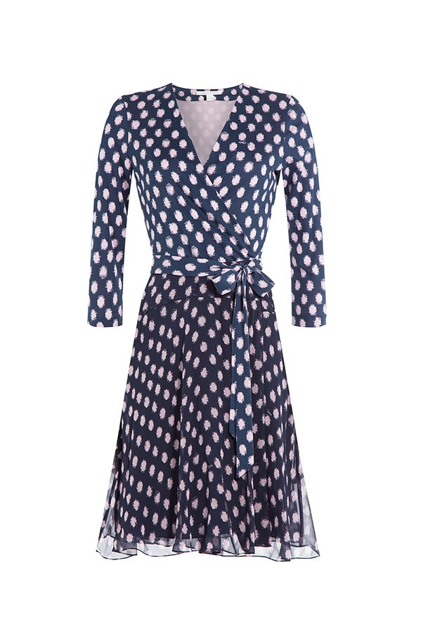 """<strong>33. A wrap dress</strong> <br><br> Silk wrap dress by Diane Von Furstenberg, $613, <a href=""""http://www.stylebop.com/au/product_details.php?id=659773"""">Stylebop</a>"""