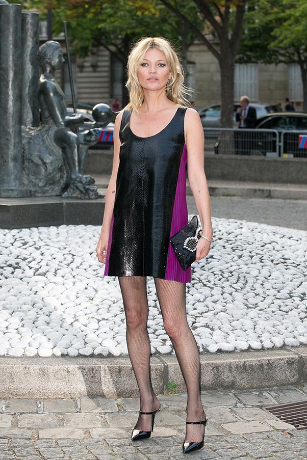 <strong>34. A little black dress</strong><br><br> Kate Moss