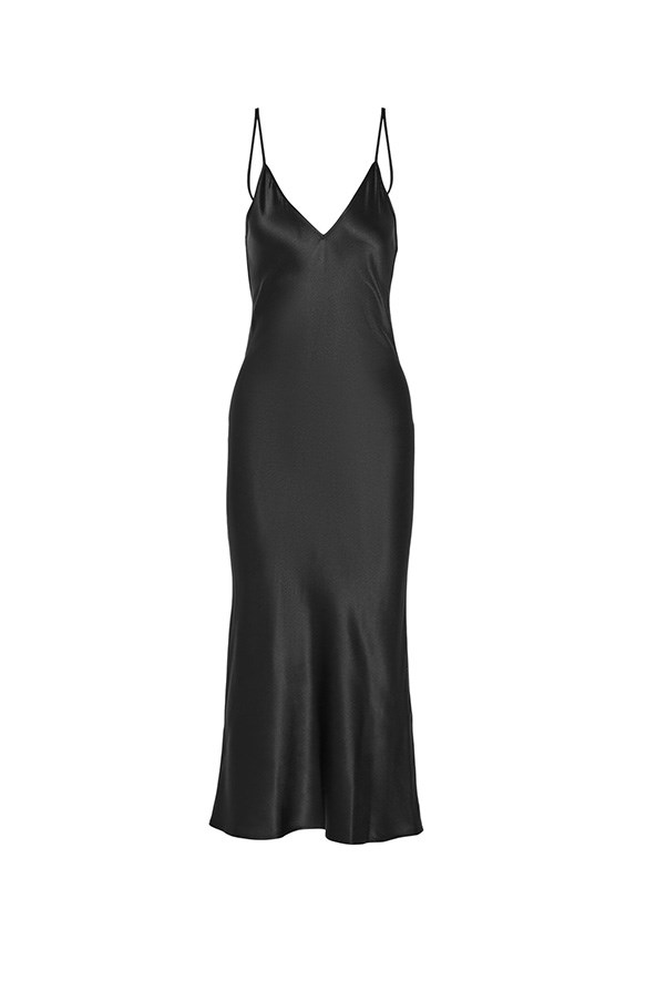 """<strong>35. A dress appropriate for formal occasions</strong> <br><br> Silk-satin midi dress by Protagonist, $668, <a href=""""https://www.net-a-porter.com/au/en/product/682852?cm_mmc=ProductSearchAU_PLA_c-_-Protagonist-_-Clothing-Dresses-Midi-_-145726075990_682852-011&gclid=CJfXypbng80CFVcmvQodvngJUw"""">Net-A-Porter</a>"""