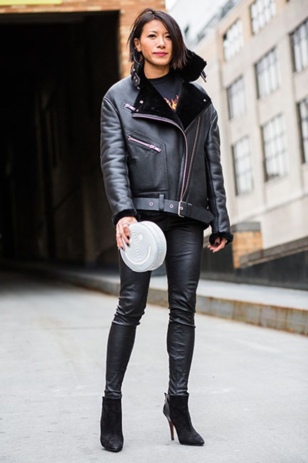 <strong>44. A leather moto jacket</strong>