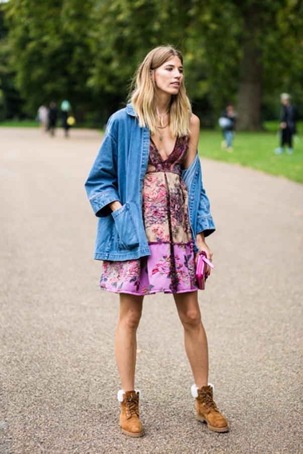<strong>45. A denim jacket</strong><br><br> Veronika Heilbrunner