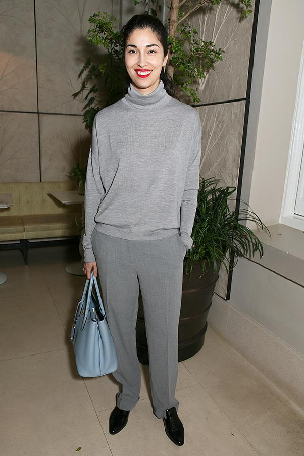 <strong>46. A cashmere sweater</strong><br><br> Caroline Issa