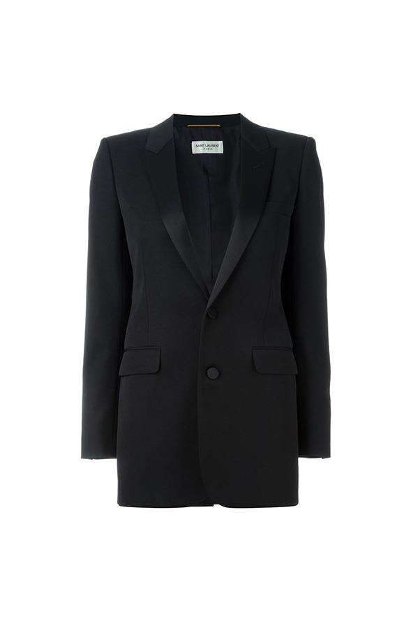 "<strong>48. A classic blazer</strong> <br><br> Classic smoking jacket by Saint Laurent, $4,110, <a href=""http://www.farfetch.com/au/shopping/women/saint-laurent-classic-smoking-jacket-item-11336263.aspx?storeid=9526&from=1&ffref=lp_pic_23_1_"">Farfetch</a>"