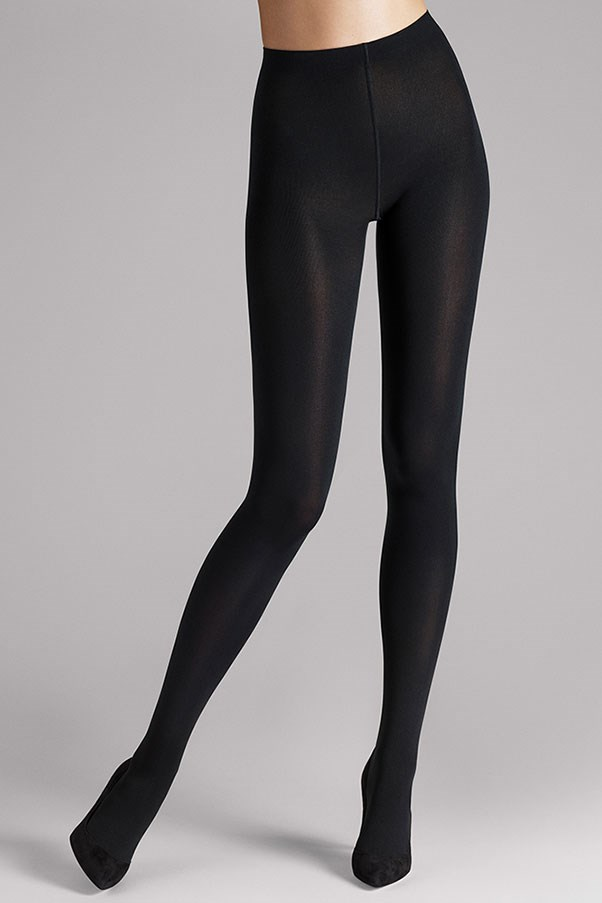 """<strong>24. Wolford opaque tights </strong> <br><br> Mat opaque 80 tights by Wolford, $61, <a href=""""http://www.wolfordshop.com/product/boutique/mat-opaque-80/18420"""">Wolford</a>"""