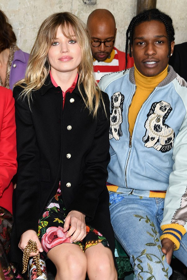 Georgia May Jagger and A$AP Rocky