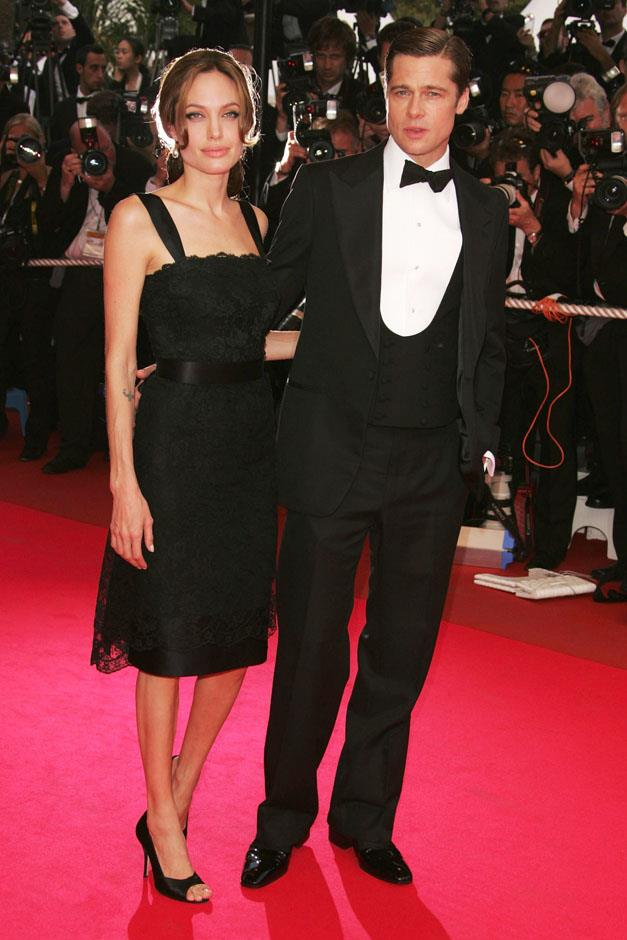 <strong>2007</strong> <br><br> In Dolce & Gabbana at the Cannes Film Festival.