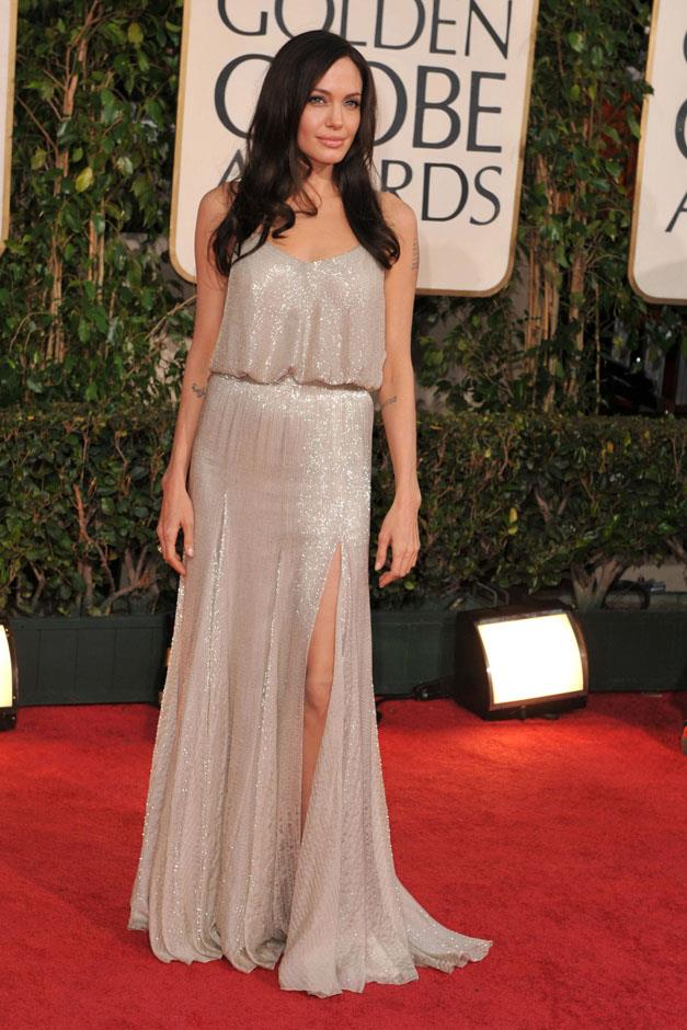 <strong>2009</strong> <br><br> In Atelier Versace at the Golden Globe Awards.