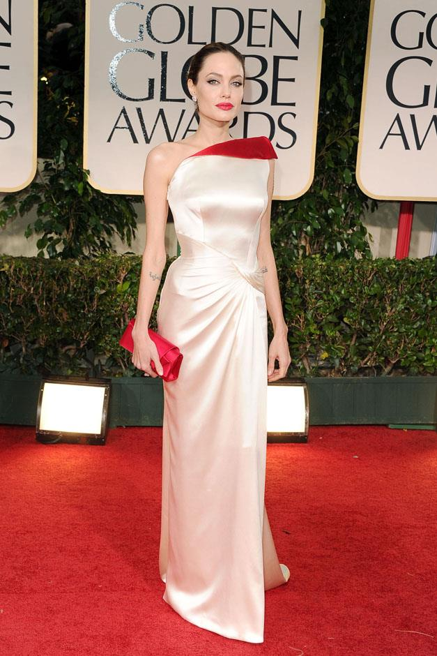 <strong>2012</strong> <br><br> In Atelier Versace at the Golden Globe Awards.
