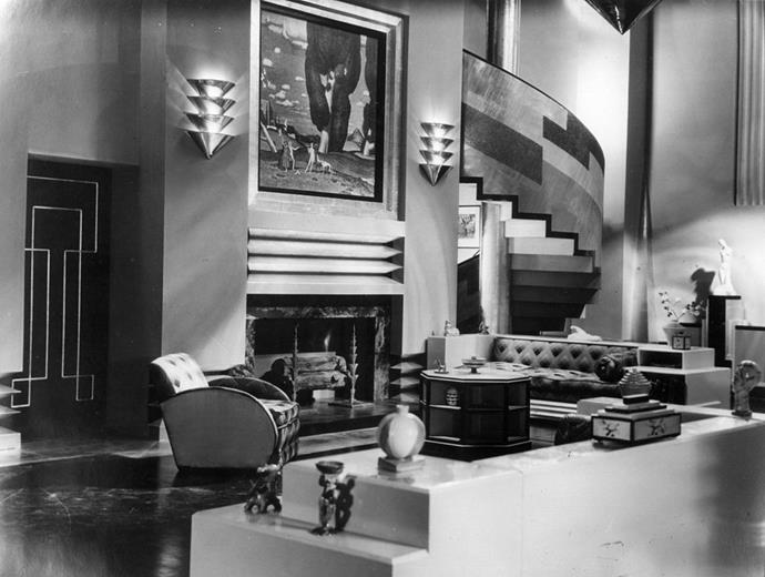 "<strong>1929</strong> <br><br> We're on the cusp of Art Deco, as seen in the movie ""Our Modern Maidens."""