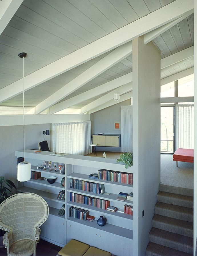 <strong>1959</strong> <br><br> Designed by Pietro Belluschi and built by J.L. Eichler, this fabulous split-level home emphasizes natural light through a neutral decor scheme punctuated by small pops of colour.