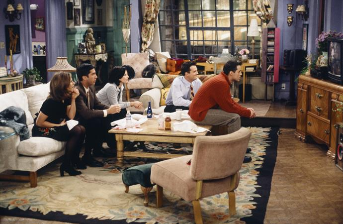"<strong>1995</strong> <br><br> The mix-and-match ""flea market"" look makes interiors feel collected and comfortable. Monica's apartment on Friends would inspire copycats to look for similarly quirky finds."