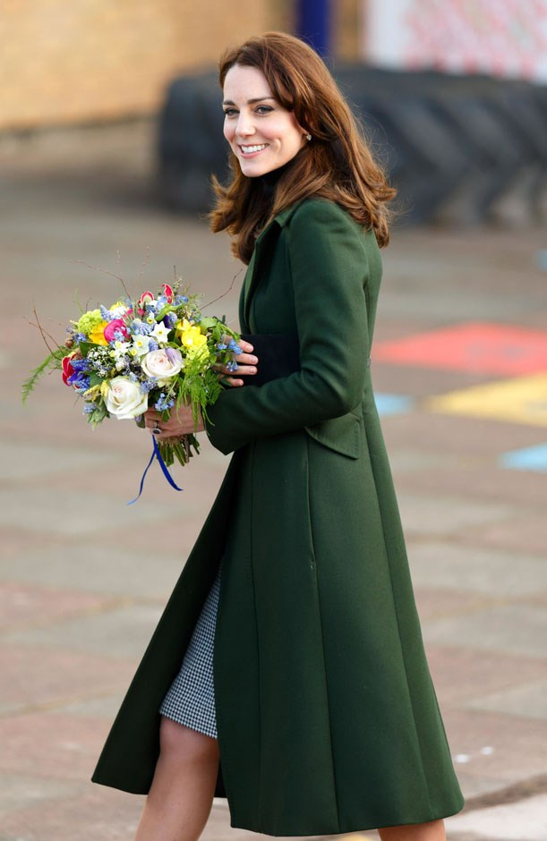 <strong>February 24, 2016</strong> <br><br> Kate visited St. Catherine's Primary School in Edinburgh as part of her work with the charity Place2Be, of which she is a patron.