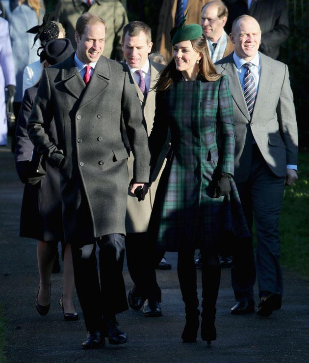 <strong>December 25, 2013</strong> <br><br> Royal PDA! Royal PDA! Will and Kate walked while holding hands after the Christmas Day service at Sandringham.