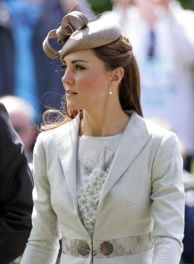 <strong>June 9, 2012</strong> <br><br> She wore it a second time to attend the wedding of Emily McCorquodale and James Hutt in Grantham, England.