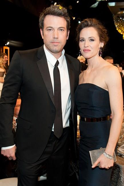 """<strong>Ben Affleck and Jennifer Garner</strong> <br><br> This twosome parted ways after a decade together, but despite allegations of Ben's affair with the nanny they're still keeping friendly to co-parent their three children. Jen said of the relationship, """"It was a real marriage. It wasn't for the cameras. And it was a huge priority for me to stay in it. And that did not work."""""""