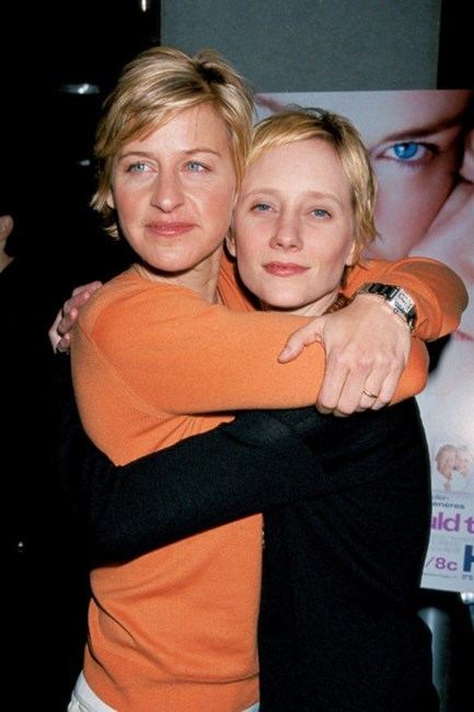 <strong>Ellen Degeneres and Anne Heche</strong> <br><br> Theirs was a landmark relationship for that period.