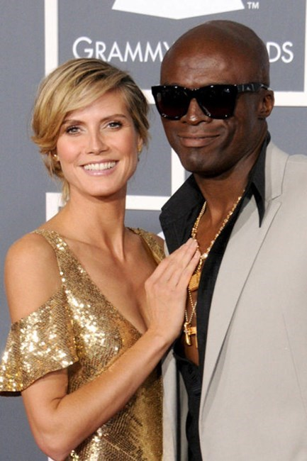 <strong>Heidi Klum and Seal</strong> <br><br> No more couple Halloween costumes from these two 😪😪