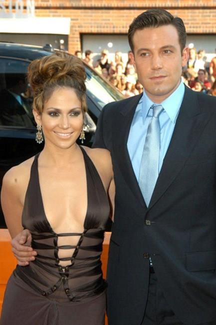 """<strong>Jennifer Lopez and Ben Affleck</strong> <br><br> Their love was sealed with a 6.1-carat pink diamond engagement ring, but it wasn't meant to be. After, Jennifer called this """"her first big heartbreak.'"""