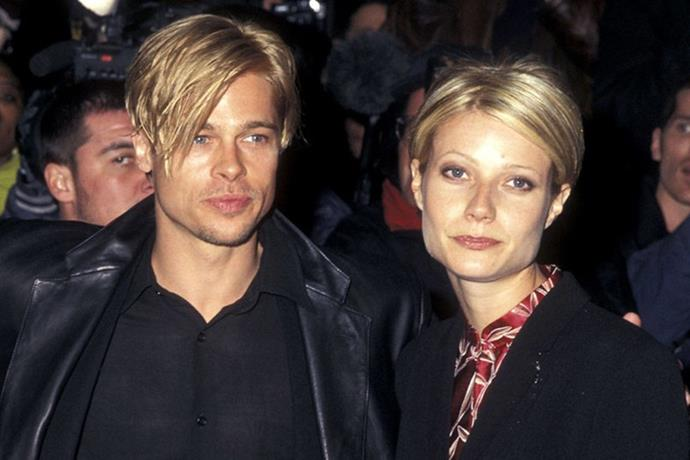 <strong>Gwyneth Paltrow and Brad Pitt</strong> <br><br> Vale to the blondest couple ever.