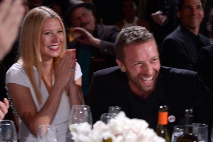 """<strong>Gwyneth Paltrow and Chris Martin</strong> <br><br> Though terribly sad to divorce, they inflicted their pain upon everyone by calling it a """"conscious uncoupling"""". Thankfully, the term didn't catch on."""