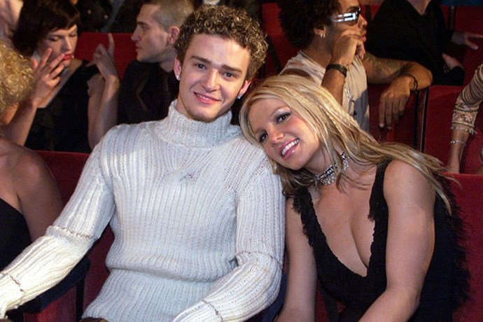 <strong>Justin Timberlake and Britney Spears</strong> <br><br> Theirs was a love decked in double denim.