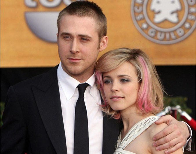 <strong>Ryan Gosling and Rachel McAdams</strong> <br><br> <em>The Notebook</em> and love is a lie.