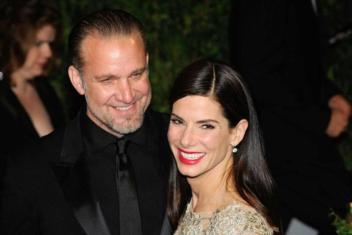<strong>Jesse James and Sandra Bullock</strong> <br><br> He cheated on her with a woman who had a tattoo on her face. Seriously.