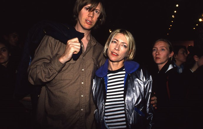 <strong>Thurston Moore and Kim Gordon</strong> <br><br> This broke our grunge rock hearts.