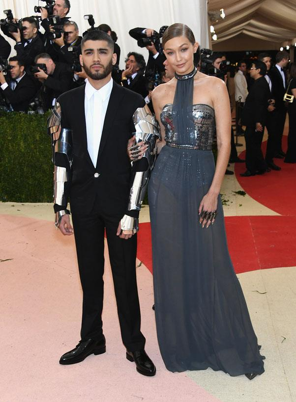 <strong>Zayn Malik and Gigi Hadid</strong> <br><br> We don't even know with this one, but we hope #ZiGi lives for another day.