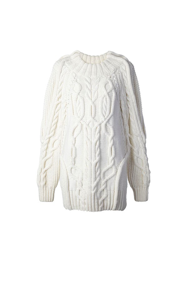 """<strong>47. A cable knit</strong> <br><br> Cable knit sweater by Vera Wang, $3,669, <a href=""""http://www.farfetch.com/au/shopping/women/vera-wang-cable-knit-sweater--item-11122002.aspx?storeid=9871&from=search&ffref=lp_pic_1_9_"""">Farfetch</a>"""