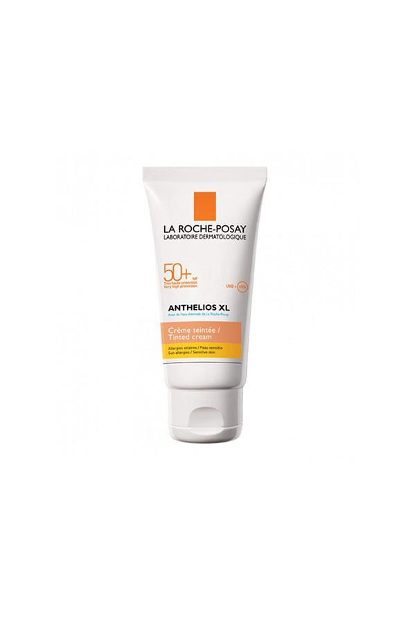 """<strong>Tinted sunscreen</strong><br><br> """"Tinted sunscreen is my forte. It's practically all I wear as far as makeup goes most days so you can rest assured I've tried each and every variation that passed through the beauty cupboard doors. Nothing beats La Roche-Posay. It has an SPF of 50+ without clogging or weighing down my skin, and the tint is a creamy texture that surprisingly melts upon application.""""<br><br> La Roche-Posay anthelios XL tinted SPF 50+, <a href=""""https://www.priceline.com.au/skincare/sun-and-tanning/sun-protection/la-roche-posay-anthelios-xl-tinted-spf-50-50-ml"""">$27.99</a>"""