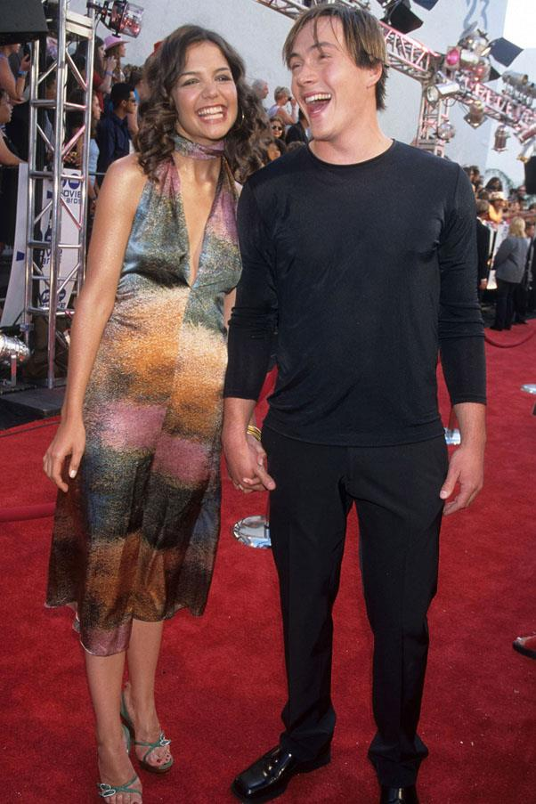 <strong>Katie Holmes and Chris Klein</strong> <br><br> After dating from 2002 to 2005, and even being engaged at one point, they split and Katie went on to date Tom Cruise a few months later.
