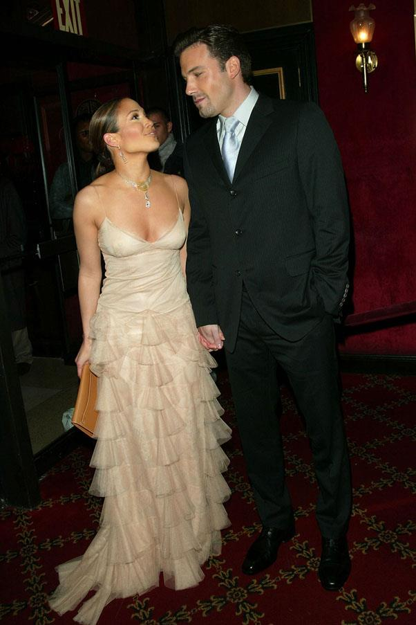 <strong>Jennifer Lopez and Ben Affleck</strong> <br><br> The most memorable element of this relationship was when Ben starred in J Lo's 'Jenny From The Block' music video.
