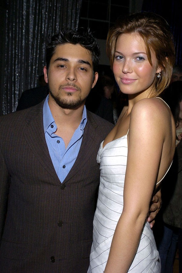 <strong>Wilmer Valderrama and Mandy Moore</strong> <br><br> How were they together? We have no idea.