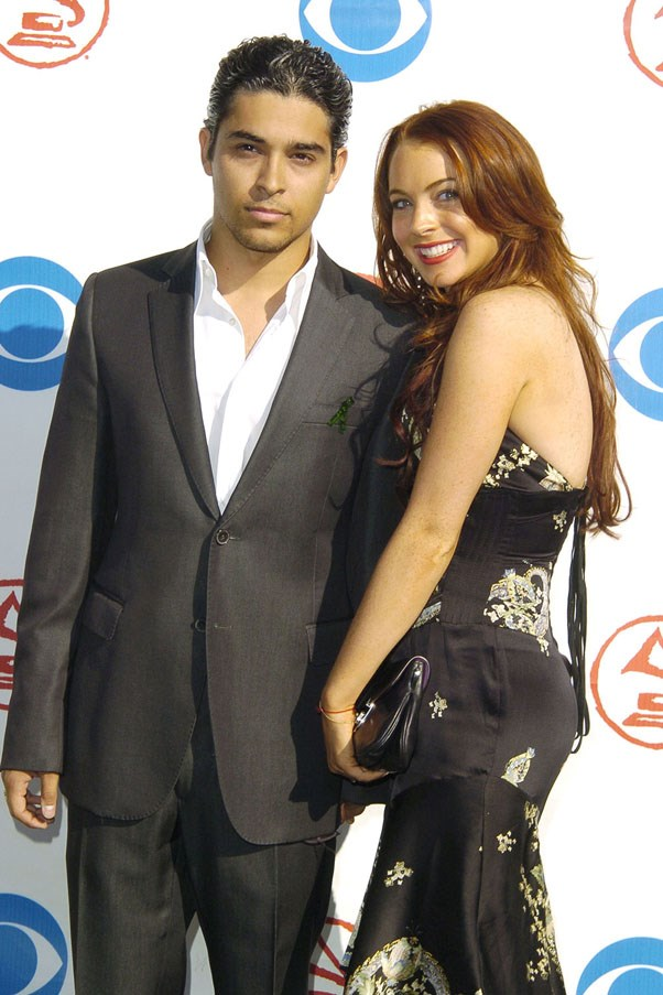 <strong>Wilmer Valderrama and Lindsay Lohan</strong> <br><br> They dated in 2004 when <em>That 70s Show</em> was in its prime. After their breakup, Lindsay went on to write the song 'Speak' on her debut album.