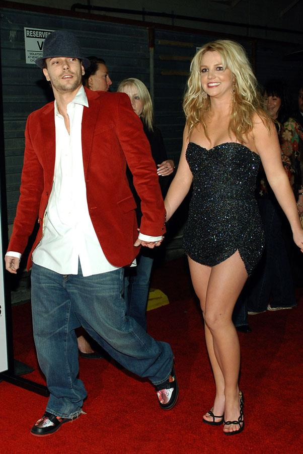 <strong>Kevin Federline and Britney Spears</strong> <br><br> Ah, these Britney years when SO much happened. Before they divorced in 2006, they had two children together and documented their lives on the legendary series, <em>Britney and Kevin: Chaotic</em>.