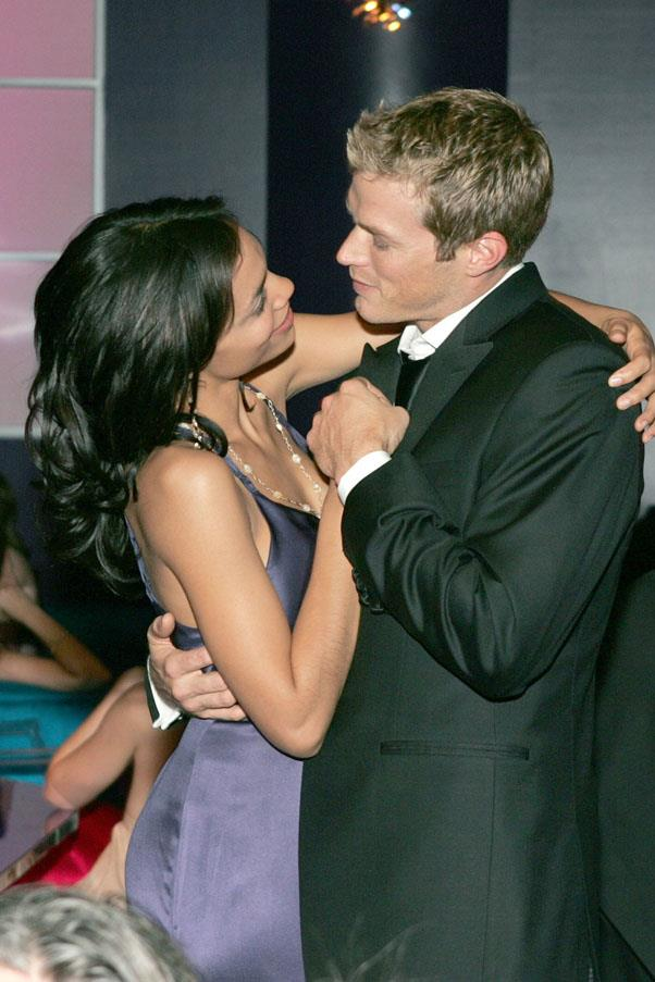 <strong>Rosario Dawson and Jason Lewis</strong> <br><br> They started dating just as Lewis was ending his tenure as Smith on <em>Sex And The City</em> (who could ever forget him). They split up in 2006 after two years.