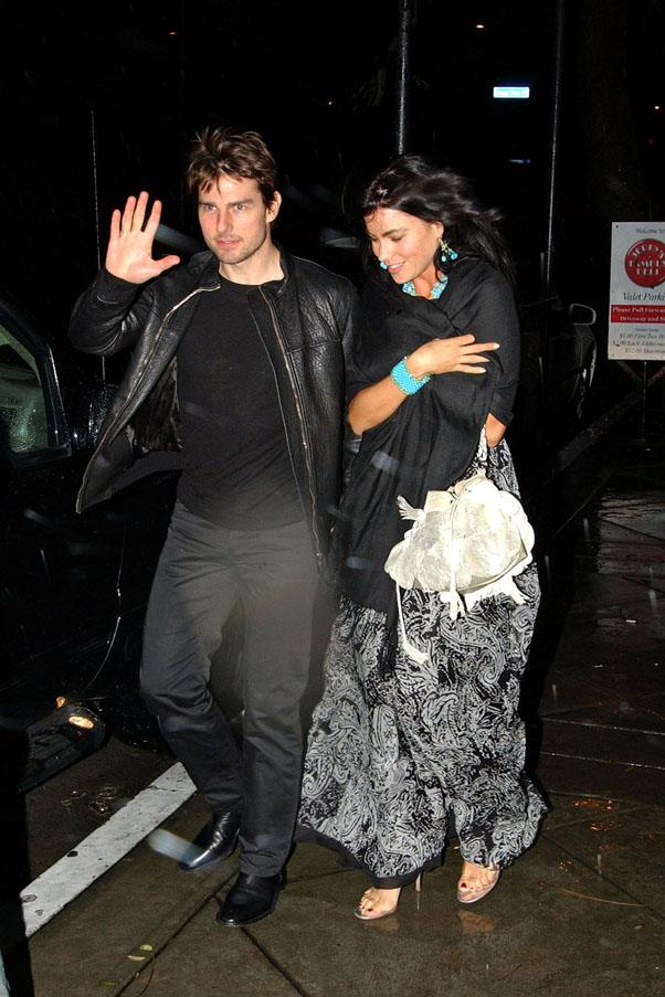 <strong>Tom Cruise and Sofia Vergara</strong> <br><br> We had no idea they were ever together. Apparently she ended it because she was creeped out by Tom and his Scientology devotion and let's be honest, who isn't.