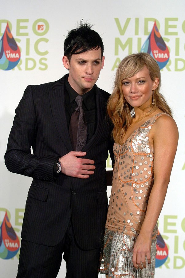 <strong>Joel Madden and Hilary Duff</strong> <br><br> In a Tyga/Kylie twist, Joel and Hillary dated for just over two years but didn't go public until she turned 18. He was eight years her senior.