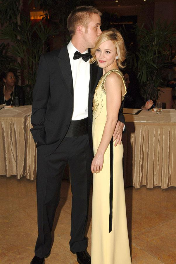 """<strong>Ryan Gosling and Rachel McAdams</strong> <br><br> <em>The Notebook</em> is a lie. After their split in 2007, Gosling told <a href=""""http://www.people.com/people/article/0,,20152855,00.html"""">GQ</a>, """"The only thing I remember is we both went down swingin' and we called it a draw."""""""