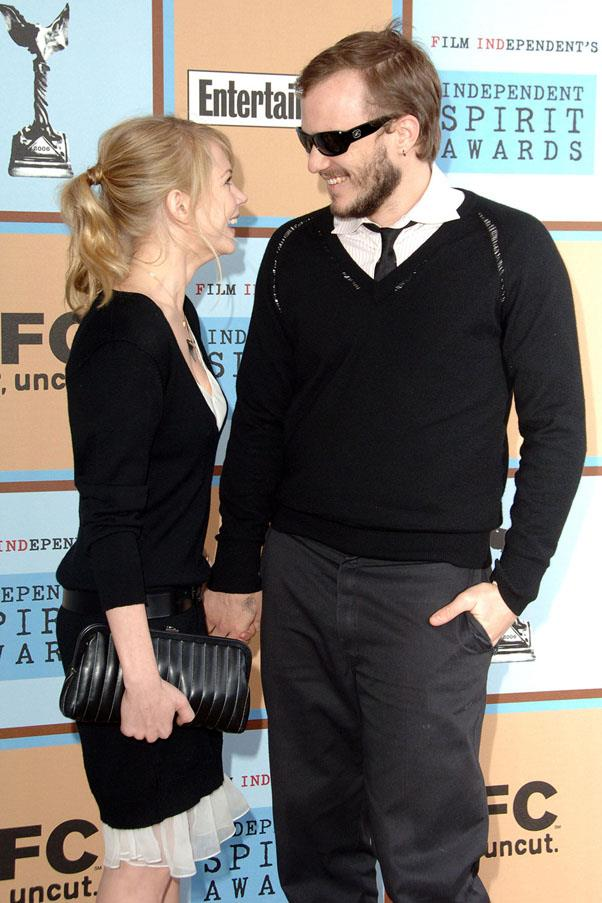 """<strong>Michelle Williams and Heath Ledger</strong> <br><br> This is too sad to even discuss. They ended their relationship in 2007, and after Ledger was found dead in his apartment in 2008, Williams said: """"My heart is broken."""""""