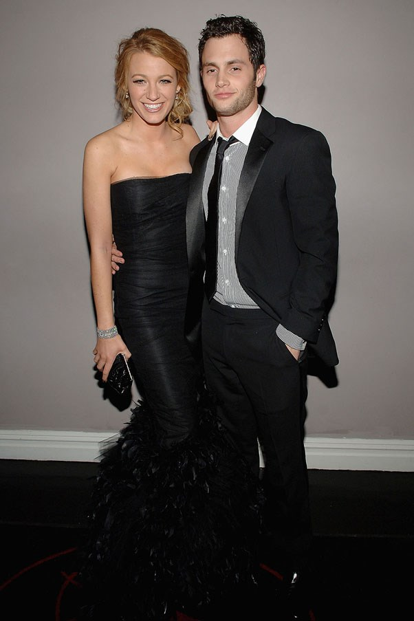 <strong>Blake Lively and Penn Badgley</strong> <br><br> These on screen and real life lovers didn't last.