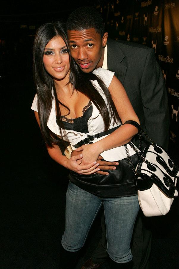 <strong>Kim Kardashian and Nick Cannon</strong> <br><br> Who could ever forget their 2006 love. At least their outfits certainly sum up the era.