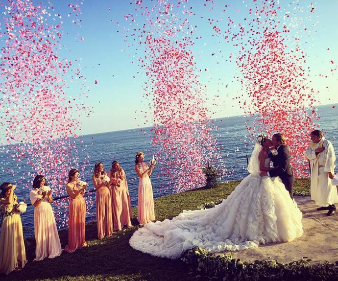 Giovanna Battaglia wedding