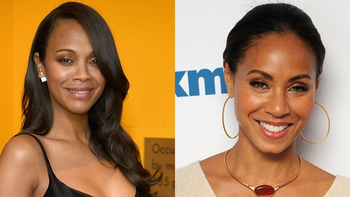 Zoe Saldana and Jada Pinkett-Smith