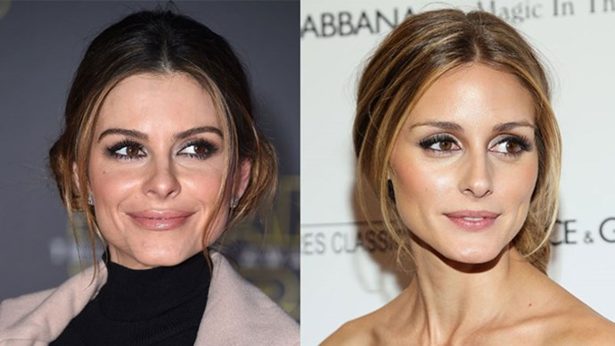 Maria Menounos and Olivia Palermo