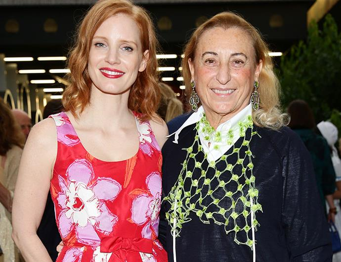 Miuccia Prada Men's Fashion Week Private Dinner Milan