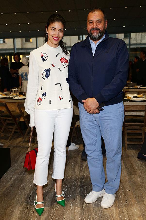 Caroline Issa and Masoud Golsorkhi