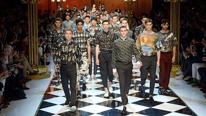 Dolce and Gabbana Men's Show