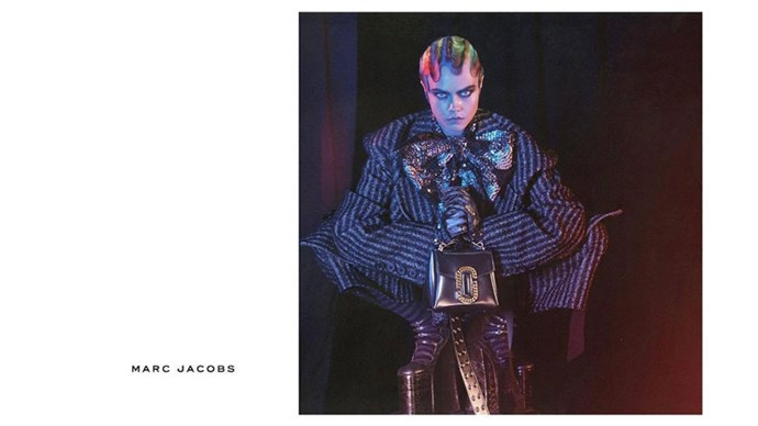 <strong>Marc Jacobs</strong><br><br> Modelled by Missy Elliot (pictured), Cara Delevingne, St. Vincent, Marilyn Monroe and Sissy Spacek, shot by David Sims